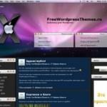 Тема для WordPress Leopard Mac