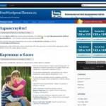 Maginoo тема для WordPress