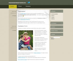 Тема BlogTheme