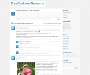 P2 Уникальная WordPress-тема для микроблогов