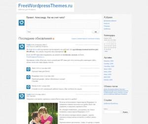 P2 Уникальная WordPress-тема для микроблогов