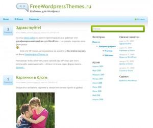 Blogdog v1.0 Тема WordPress в классическом стиле