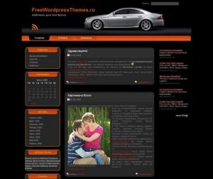 Wordpress шаблон Lux Car для сайтов автомобильной тематики
