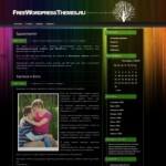 Красочная тема WordPress Color3