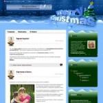 Новогодняя тема WordPress Merry Christmas