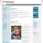 Тема WordPress Afterburner