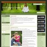 Тема WordPress Красота и здоровье