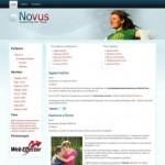 Профессиональная WordPress тема Novus