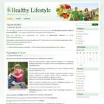 Тема Wordpress Healthy Lifestyle