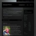 Дивная тема Wordpress Piano Black