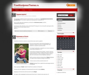 Корпоративная WordPress тема iDream