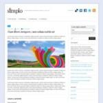 Изящная тема для Wordpress Simplo