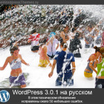 WordPress 3.0.1 на русском