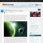 AllTuts Красивый Wordpress шаблон