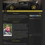Авто шаблон Bugatti-Avto