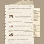 Sketchpad в дизайне классического блокнота