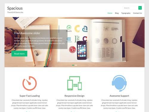 Spacious - Адаптивный шаблон для WordPress