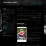 Темная тема Wordpress New York