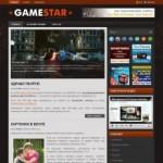 Игровой Wordpress шаблон Game Star