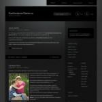 Дивная тема Wordpress Piano Black