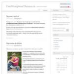 Voidy легкий шаблон для Wordpress