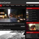 Игровой Wordpress шаблон NewGamer