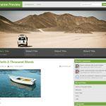 Добротный WordPress шаблон для блога